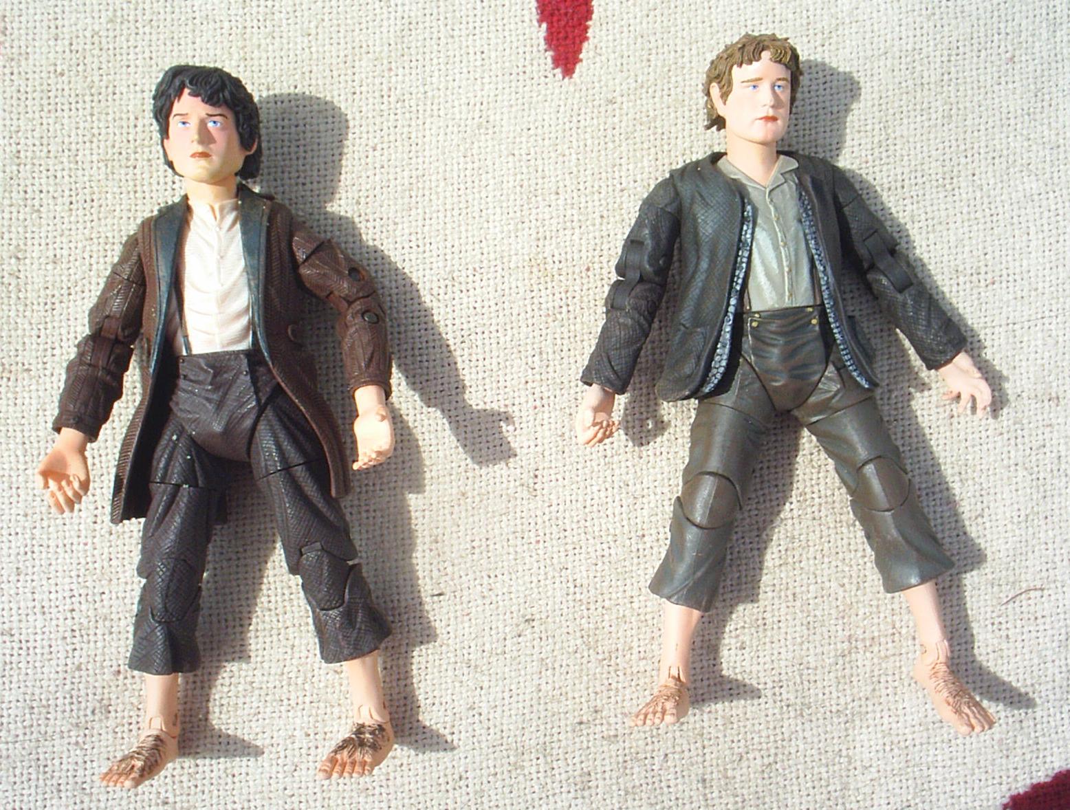 Frodo and Sam by Toybiz