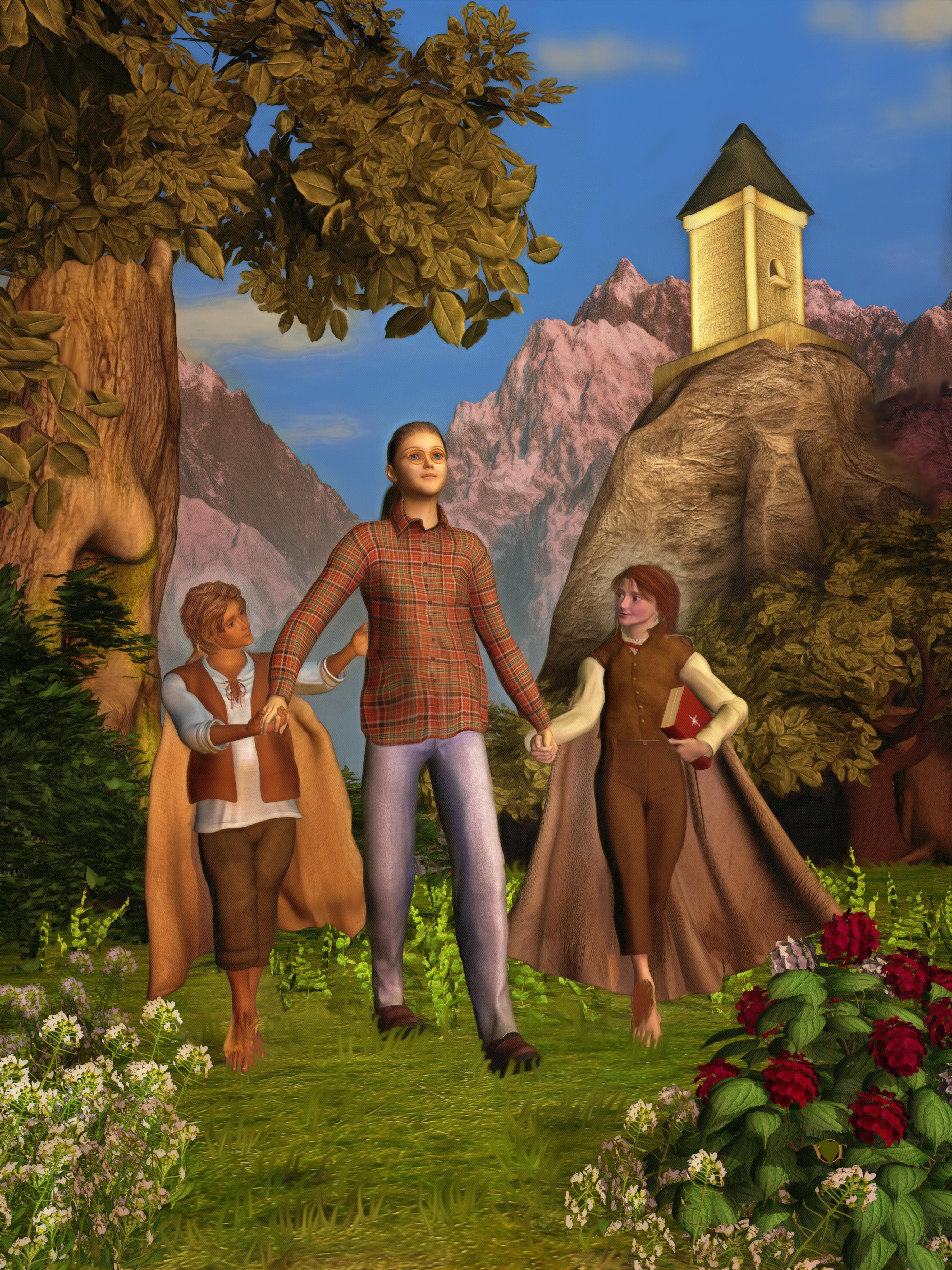 A walk through Middle Earth